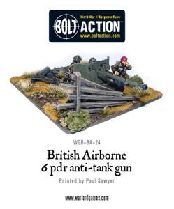 Bolt Action: British Airborne 6 Pounder ATG & Crew
