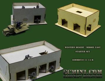 28mm Western Desert Starter Set
