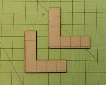 """Just Sidewalks - Corner """"L"""" Pieces - 28MROAD016"""