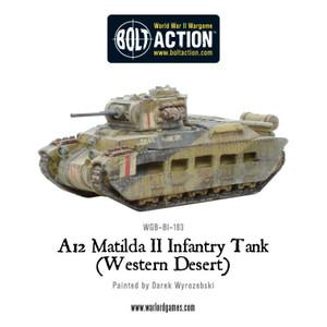 Bolt Action: Matilda II - Desert