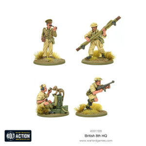 Bolt Action: 8th Army HQ Team