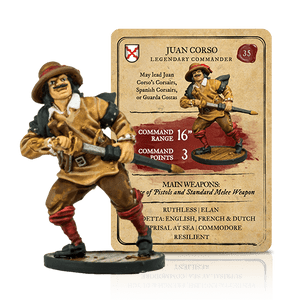 Blood & Plunder: Spanish Juan Corso Legendary Commander