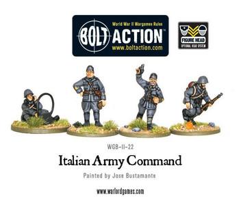 Bolt Action: Italian Command (HQ)