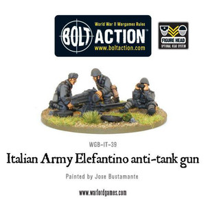 Bolt Action: Italian 47mm Elefantino Anti-Tank Gun