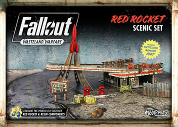 Fallout: Wasteland Warfare - Red Rocket Scenery Set