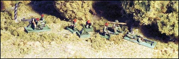 Brushfire Warrior Heavy Weapons: MGs, RPGs, etc. - TW9