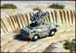 BRDM 2 SA9 Anti-Aircraft - W24