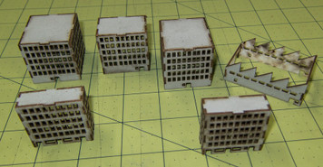 Non Rubbled Buildings - 3MMCSS011