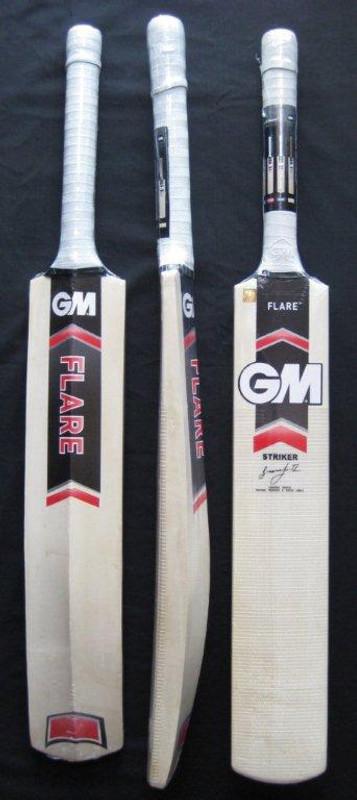 GUNN & MOORE (GM) FLARE STRIKER Cricket Bat (RED) PLUS FREE EXTRAS