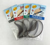 Sanding Detailer Stick Replacement Belts shown in color coded packages for each grit.