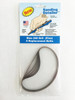 Sanding Detailer Stick Replacement Belts 240 grit in a package of 5.
