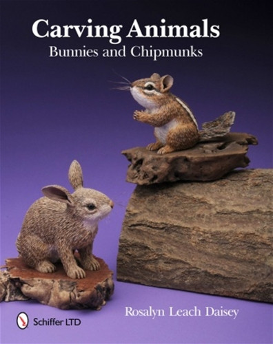 Carving animals bunnies and chipmunks