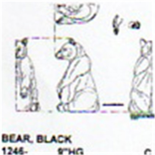 Black Bear Setting Up 9 Quot High Carving Pattern