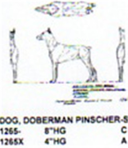 Doberman cher standing quot high carving pattern