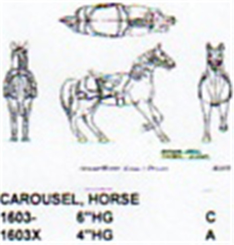 Carousel Horse 4 Quot High Carving Plan