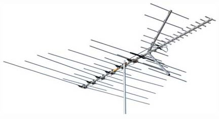 Multiple Frequency Antenna Aerial