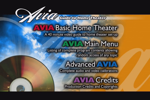 how to use avia and digital video essentials for hdtv calibration rh ramelectronics net Theater Words in Manual Movie Theater Manual