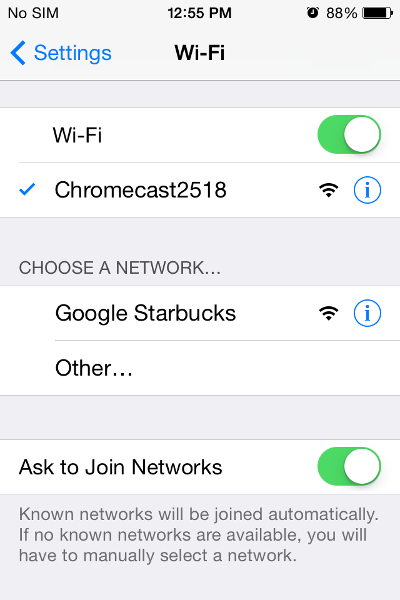 There are a few reasons that your Chromecast may be having trouble  connecting to your WiFi network. Any one, or a combination of the  following, simple fixes ...