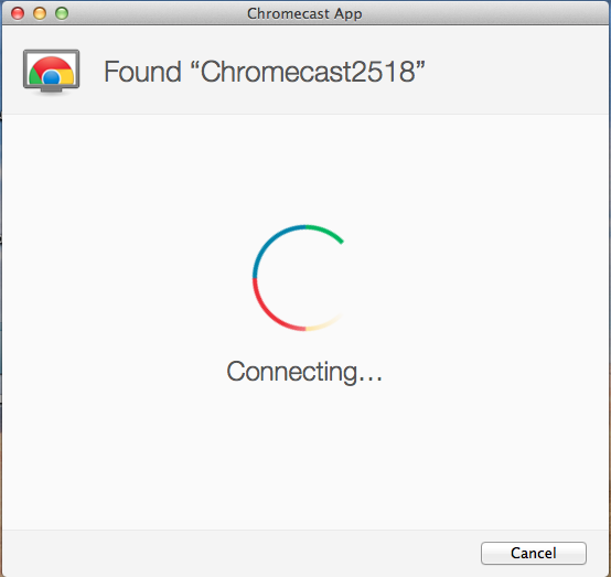 how to connect mac to tv chromecast