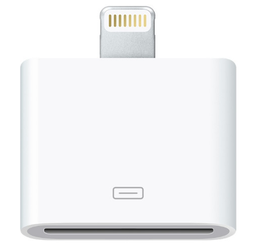 dock connector to lightning adapter