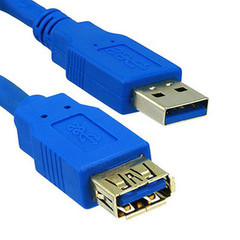 USB 3.0 Extension Cable, Type A Male to Female