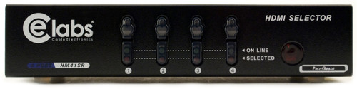 Ce Labs HM41SR professional HDMI switcher front