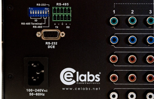 Ce Labs sw808hd control