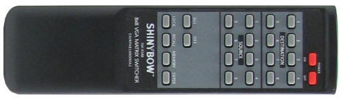 Shinybow SB-8188TB remote