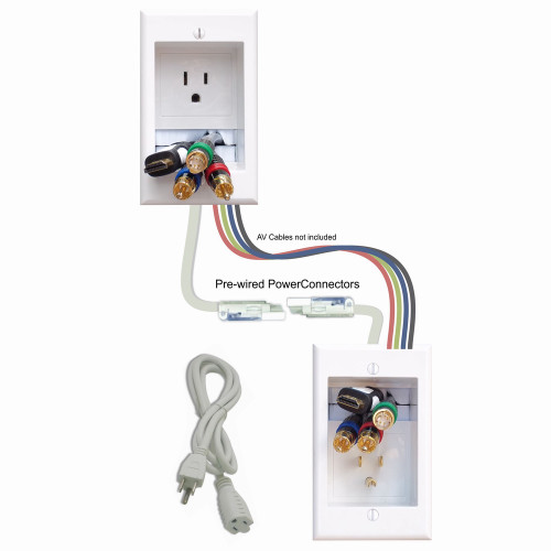 PowerBridge ONE-CK In-Wall Power Cable Management.