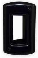 Powerbridge Cable Solution Black  Wall Plate