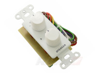 Speaker Switch wall plate insert Calrad 28-129