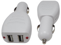 USB Car Charger, with two USB Ports