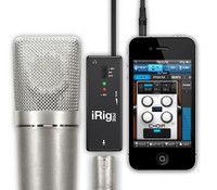 iRig PRE with iphone