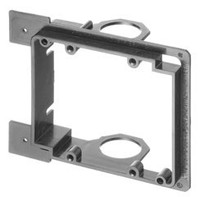 Low Voltage Mounting Brackets for New Construction- Dual gang