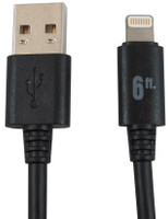 Pro Grade Reinforced Lightning Cables top view