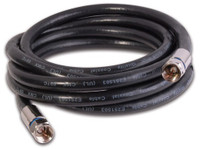 RG6 Quad Coaxial Cable with Premium Gen II Compression   Connectors