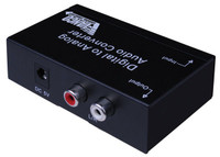 Premium DAC with DTS and Dolby Digital Decoding