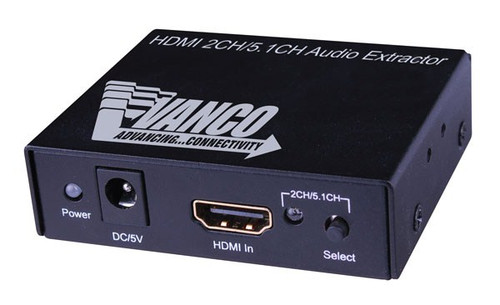 HDMI Audio Extractor input