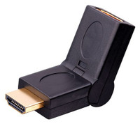 HDMI swivel Adapter - 180 Degree Swivel, up and down