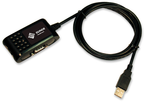 USB to a serial RS-232 serial converter, DB9 Male to USB A Male