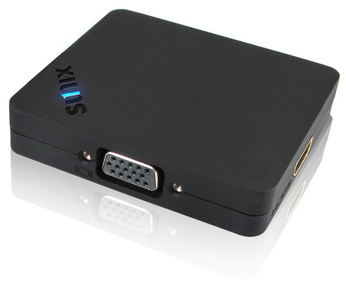 Universal DisplayPort Graphics Splitter with VGA, HDMI, and DisplayPort