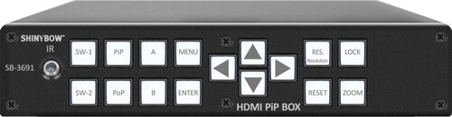 2x1 HDMI Selector Switch and Scaler with PiP