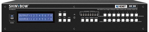 Shinybow SB-5688CAK 8x8x8 HDMI UHD 4K2K HDBaseT™ Matrix Routing Switch
