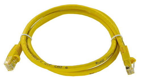 Cat6 Crossover Patch Cord yellow