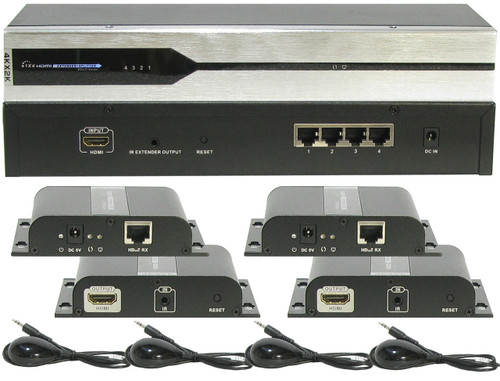 A-Neuvideo ANI-0104UHD extender receiver set