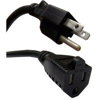 Standard AC Power Extension Cord