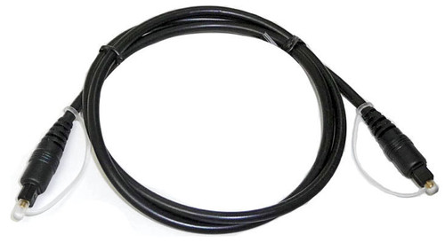 Toslink Fiber Optic Cable for Digital Audio