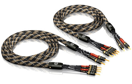 ViaBlue SC-4 Bi-Wire Speaker Cable with T6S Bananas, 1 pair
