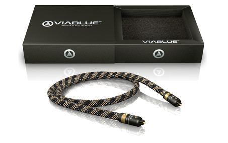 Viablue H-Flex Toslink Cable with box