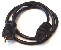 Shielded Belden 19364 Power cable with high end Marinco plug and receptacle